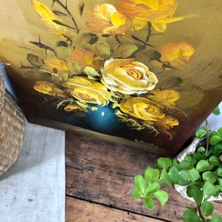toile bouquet de fleurs